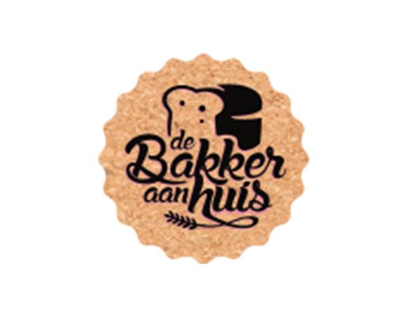 Logo De Bakker aan huis
